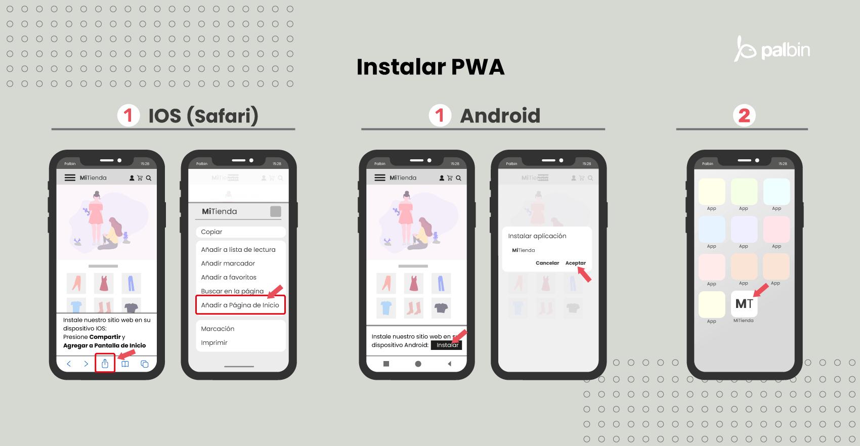 Cómo instalar PWA