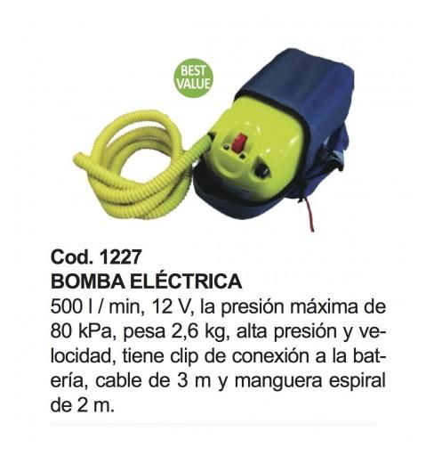 Bomba eléctrica de 12 v.