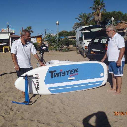 NEUMÁTICA TWISTER BOATS + PADDLE SURF TWISTER BOATS, CONVERTIBLES  !! [1]