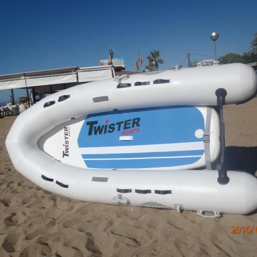 NEUMÁTICA TWISTER BOATS + PADDLE SURF TWISTER BOATS, CONVERTIBLES  !!