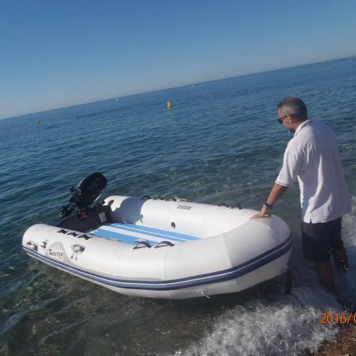 NEUMÁTICA TWISTER BOATS + PADDLE SURF TWISTER BOATS, CONVERTIBLES  !! [2]