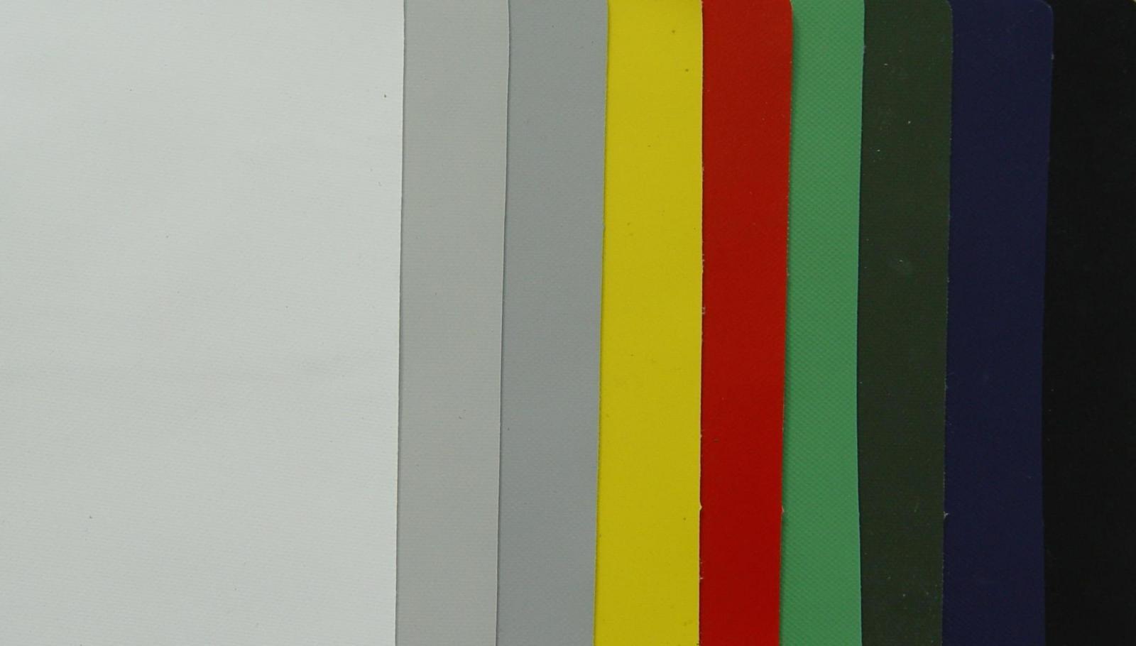 Tejido PVC todos los colores 900 decidex