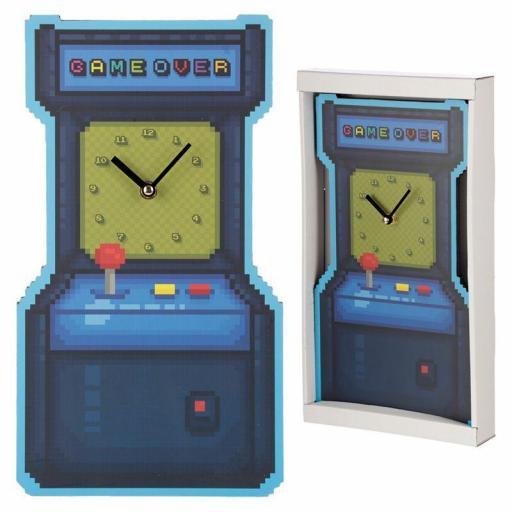 Reloj Arcade game over [1]