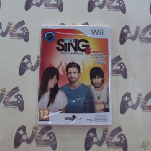 Lets Sing 8 - Versión Española - NUEVO