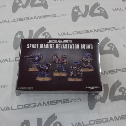 SPACE MARINE DEVASTATOR SQUAD - NUEVO