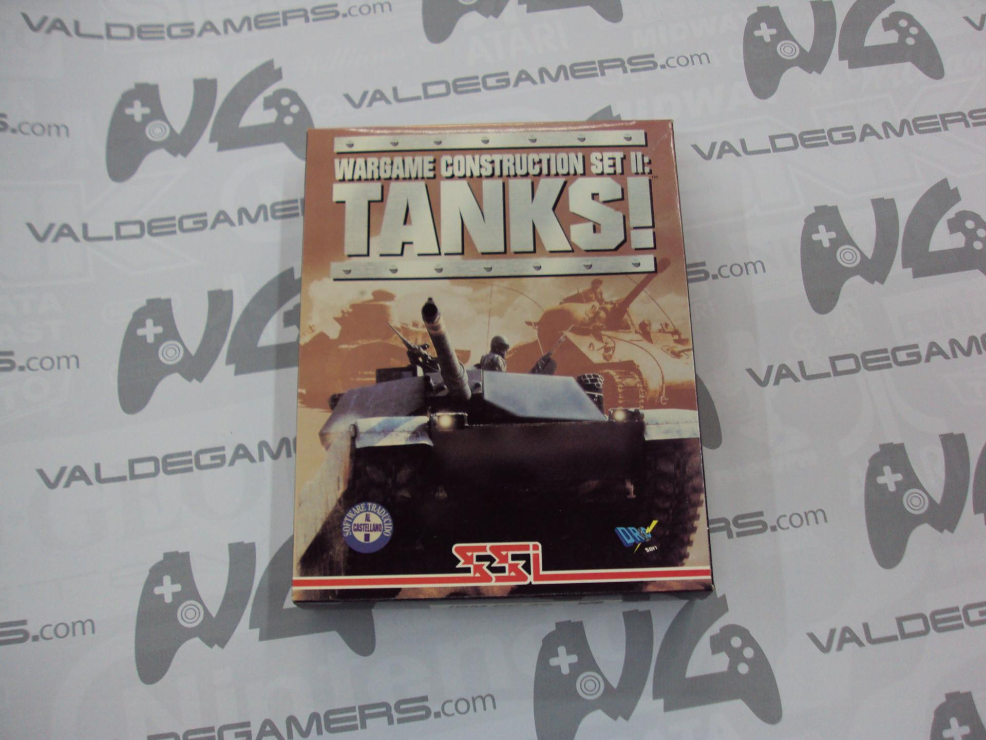 "Wargame construction set 2 Tanks PC 3.5"" IBM"