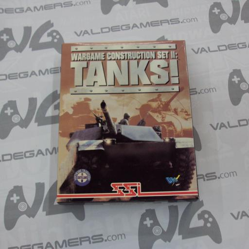 "Wargame construction set 2 Tanks PC 3.5"" IBM [0]"