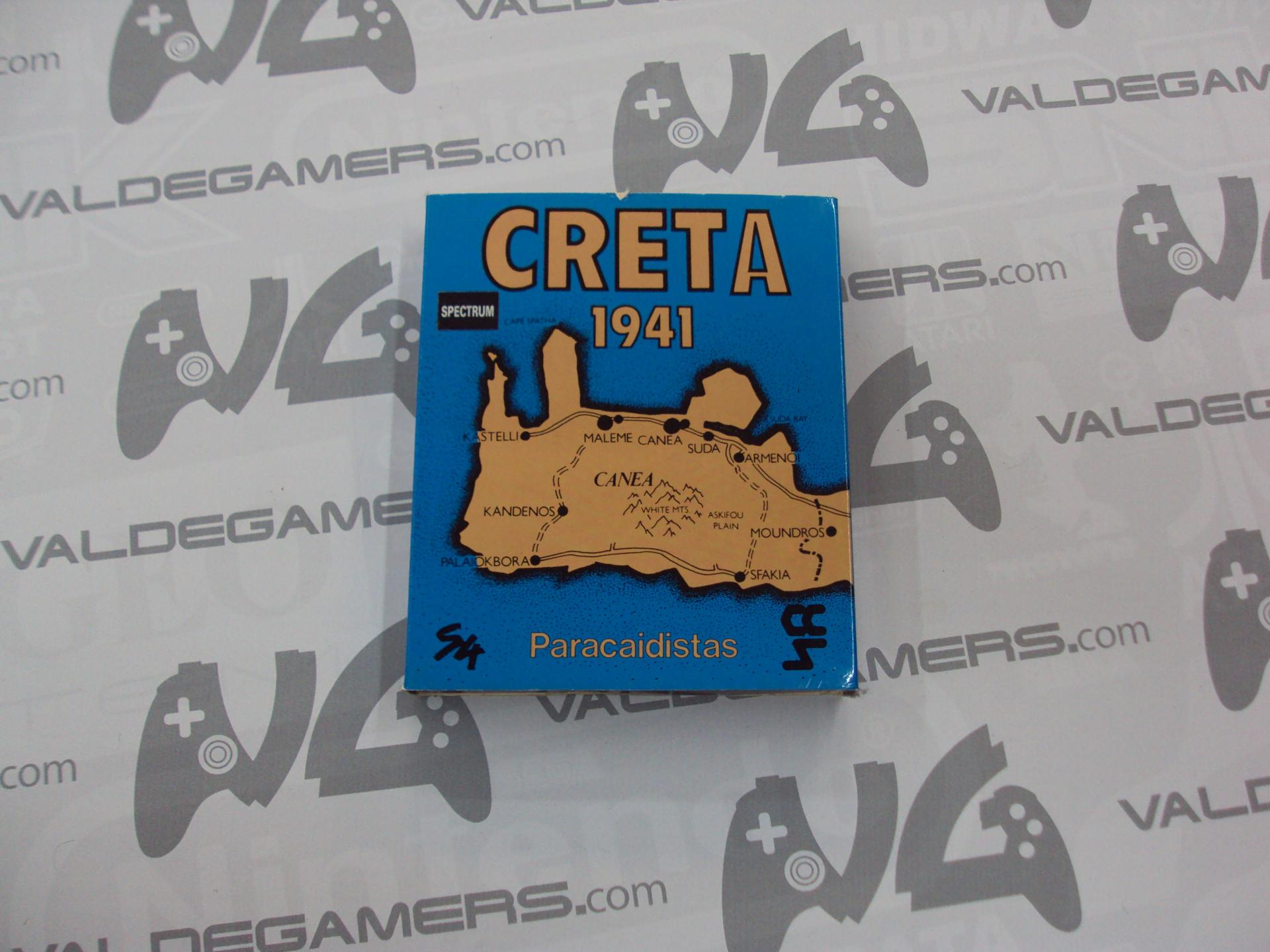 Creta 1941 - paracaidistas