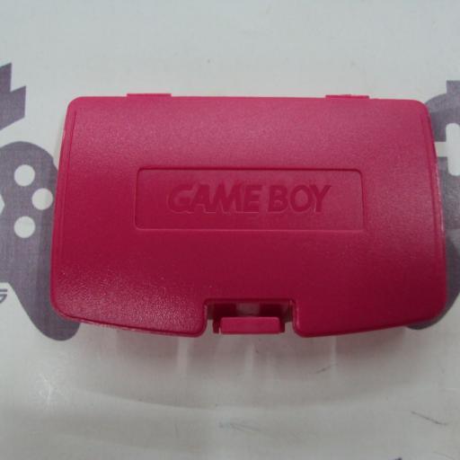 tapa de pilas game boy color - rosa
