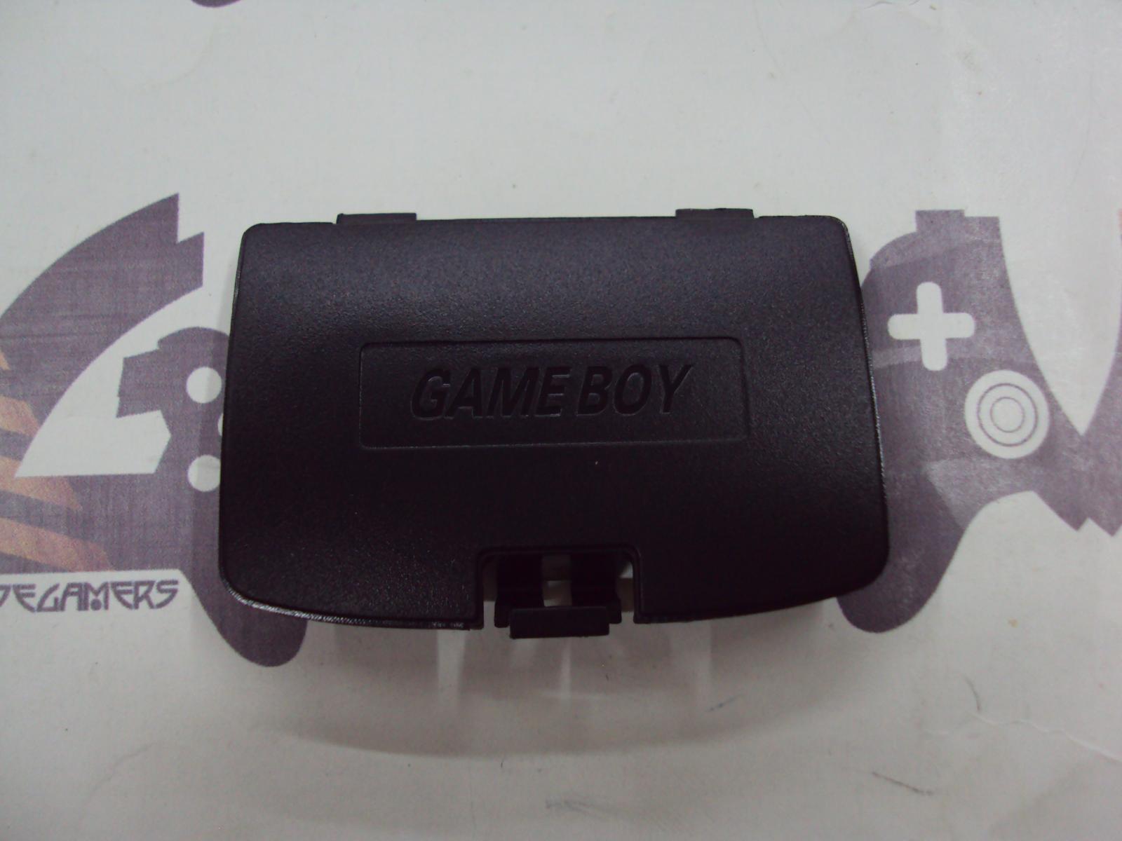 tapa de pilas game boy color - negro