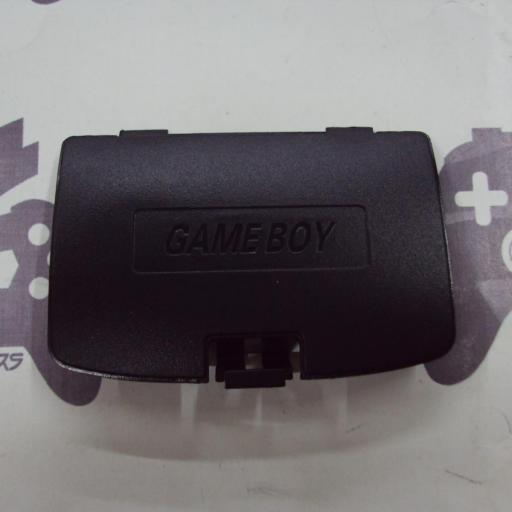 tapa de pilas game boy color - negro [0]