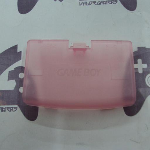 tapa de pilas game boy advance rosa transparente - NUEVO [2]