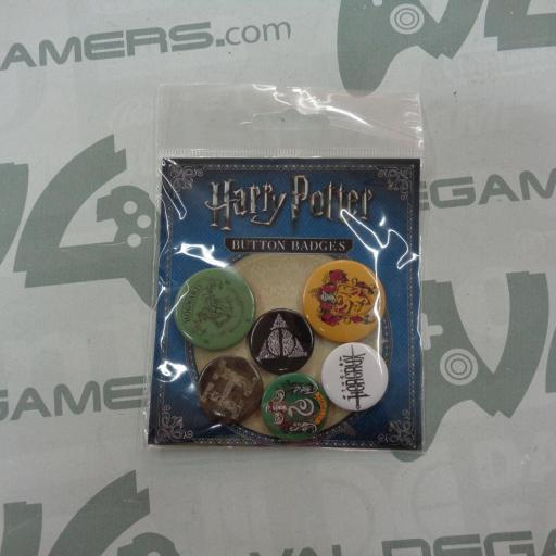 Pack Chapas Harry Potter