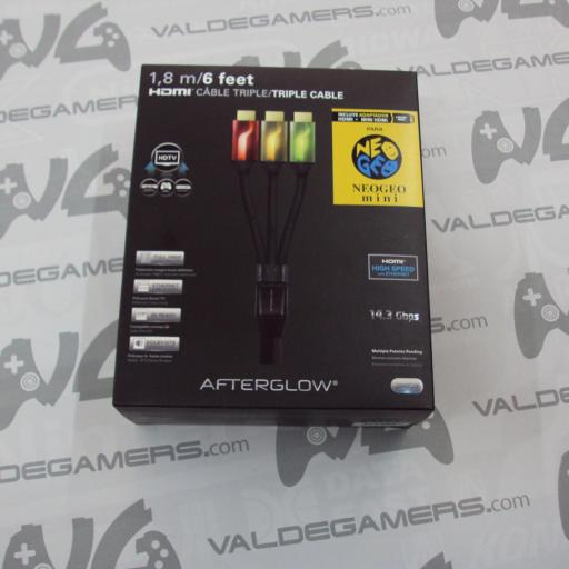Triple Cable HDMI AfterGlow + Adaptador Mini HDMI  - NUEVO