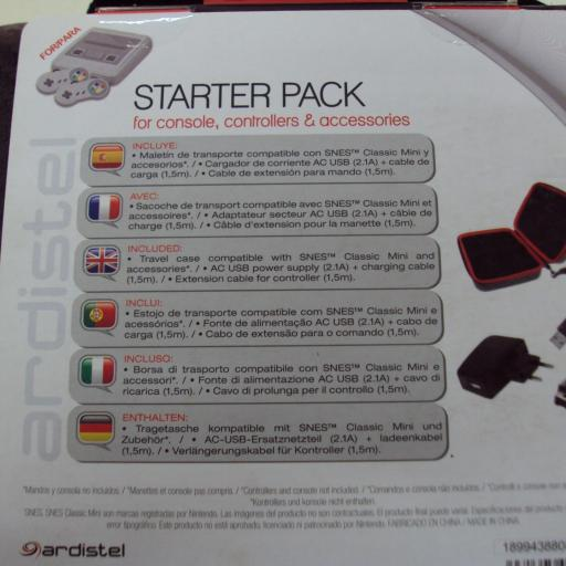 Starter Pack SNES - NUEVO [2]