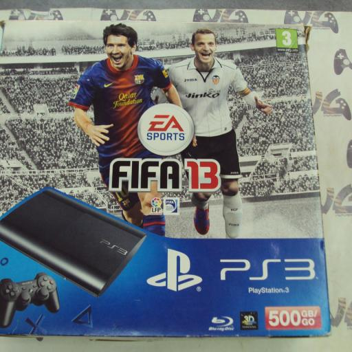 Playstation 3 FIFA 13 - 500GB + mando