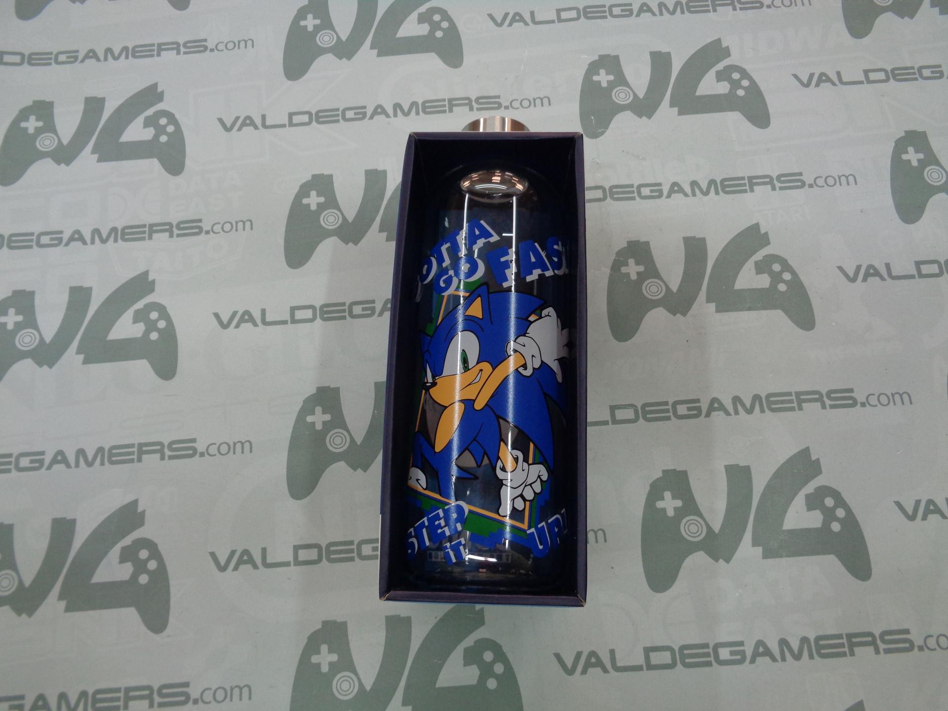 Botella cristal grande Sonic 1030 ML - NUEVO
