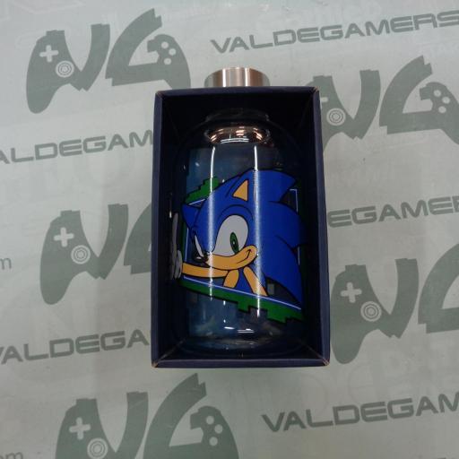 Botella cristal Sonic 620ml - NUEVO