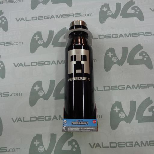 Botella Termo Acero inox Minecraft 580ml - NUEVO