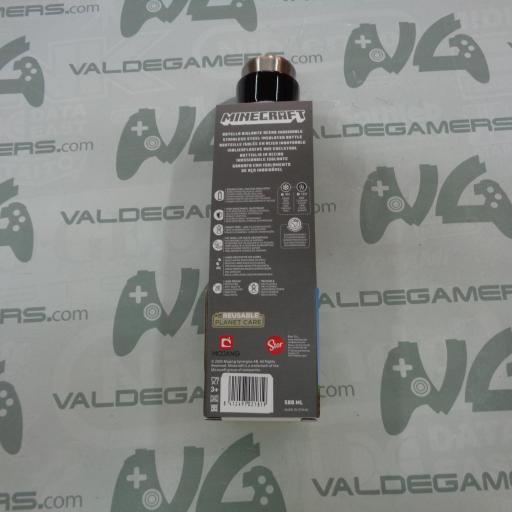 Botella Termo Acero inox Minecraft 580ml - NUEVO [1]