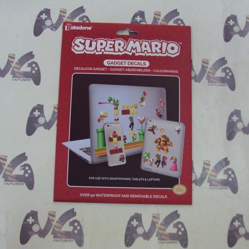 Pegatinas Super Mario - NUEVO