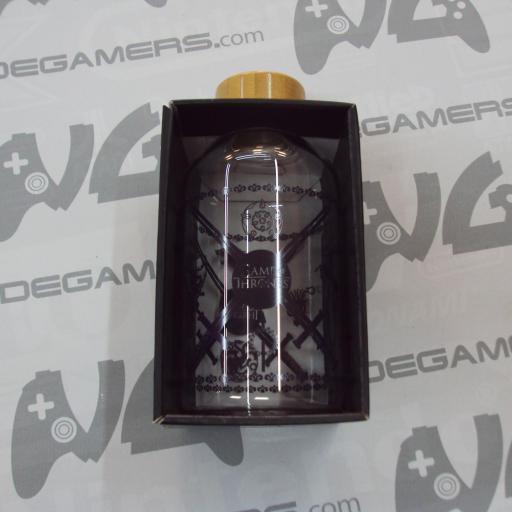 Botella cristal JUEGO DE TRONOS  620ml - NUEVO