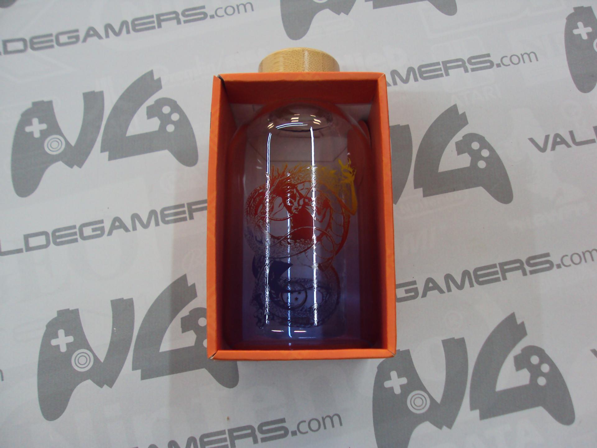 Botella cristal DRAGON BALL  620ml - NUEVO