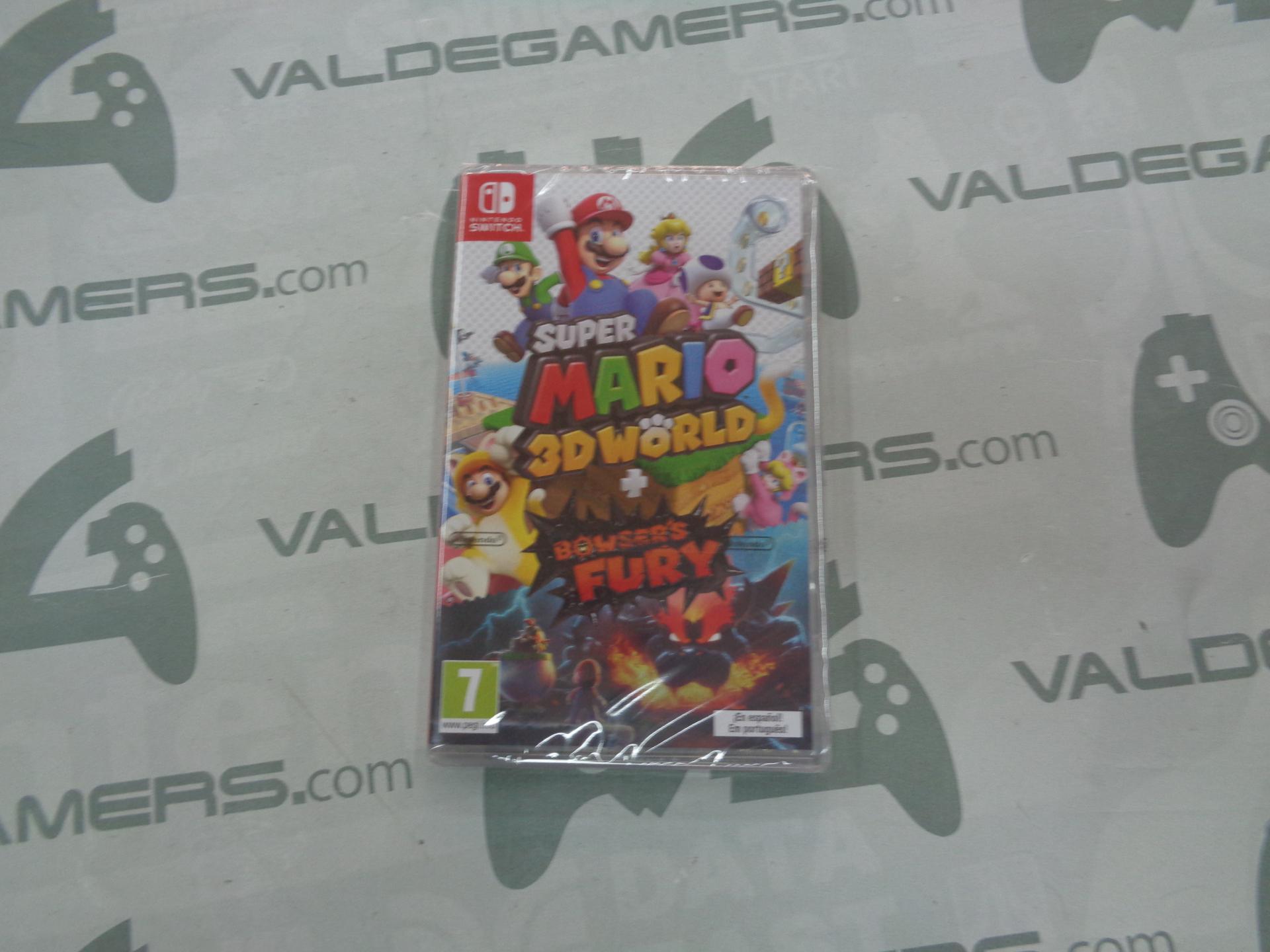 Super Mario 3D World + Bowser'S Fury - NUEVO