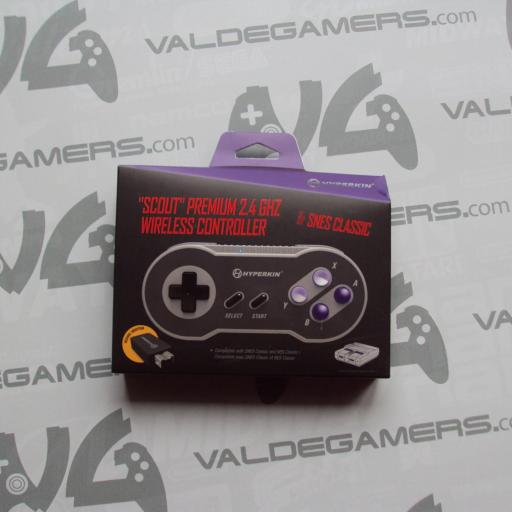 mando  Wireless mini snes / nes Scout Premium 2.4 Ghz