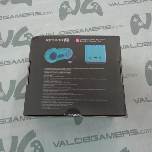 Consola Retron SQ Hyper Beach Azul para Juegos GameBoy - NUEVA [1]