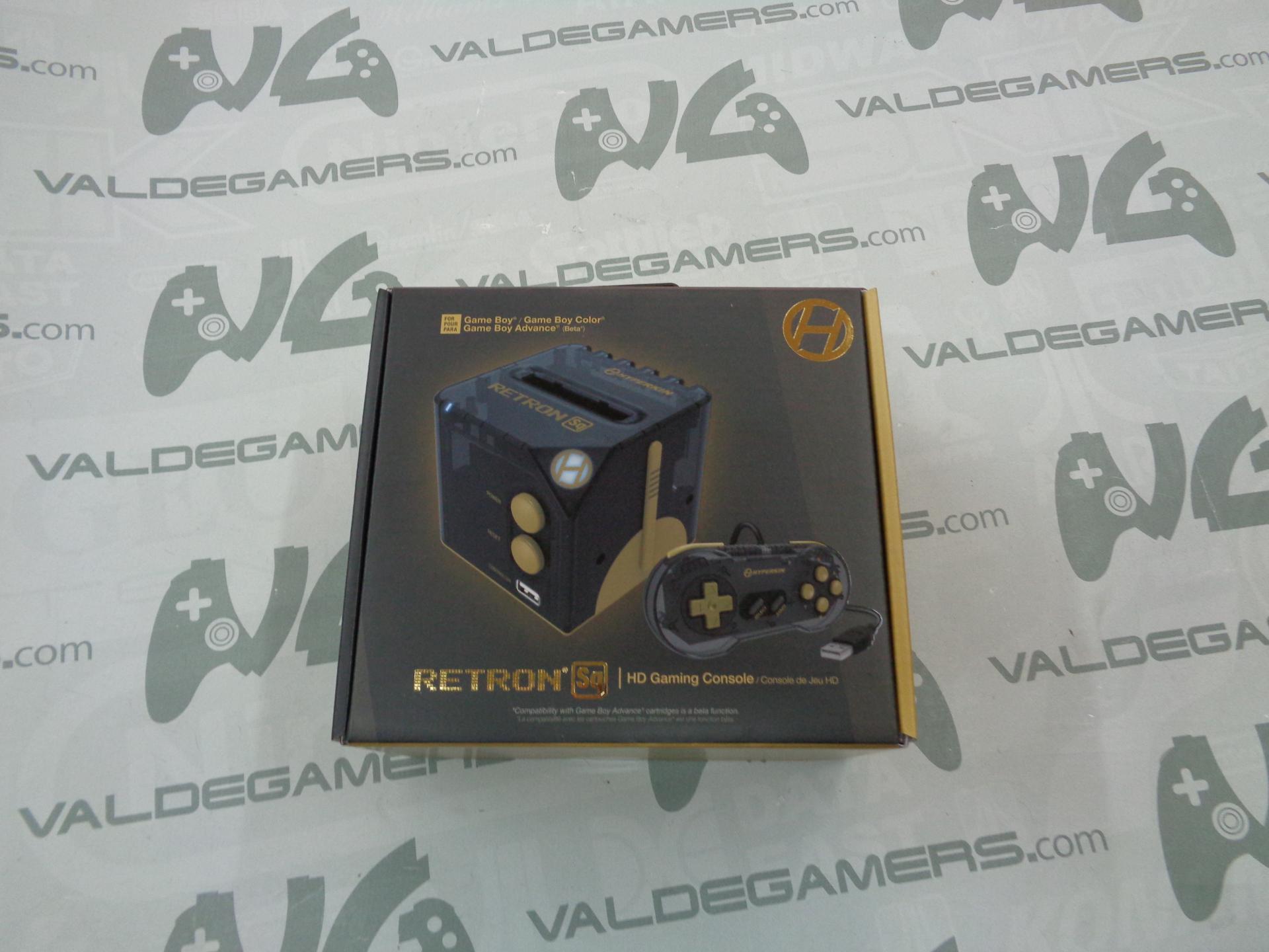Consola Retron SQ Black Gold para Juegos GameBoy - NUEVA