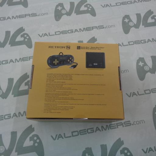 Consola Retron SQ Black Gold para Juegos GameBoy - NUEVA [1]