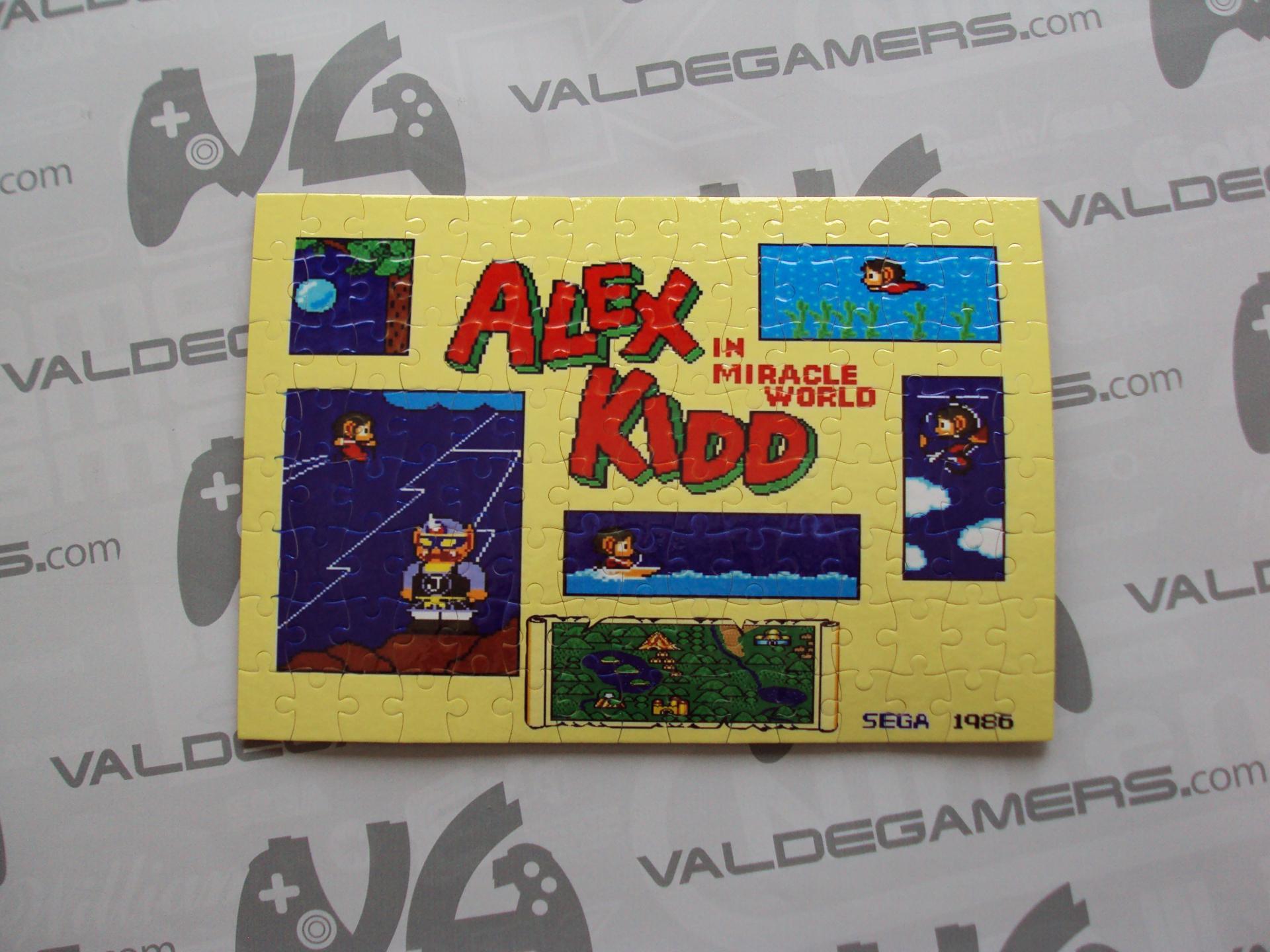 Puzzle personalizado Alex Kidd - NUEVO