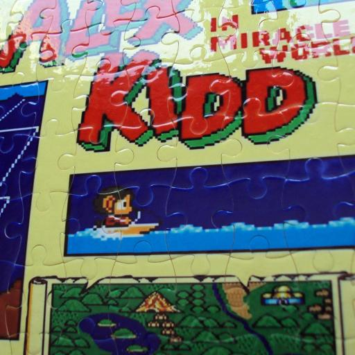Puzzle personalizado Alex Kidd - NUEVO [1]