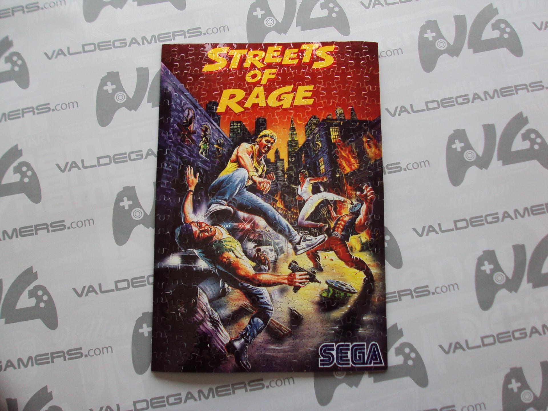 Puzzle Grande personalizado street of rage - NUEVO