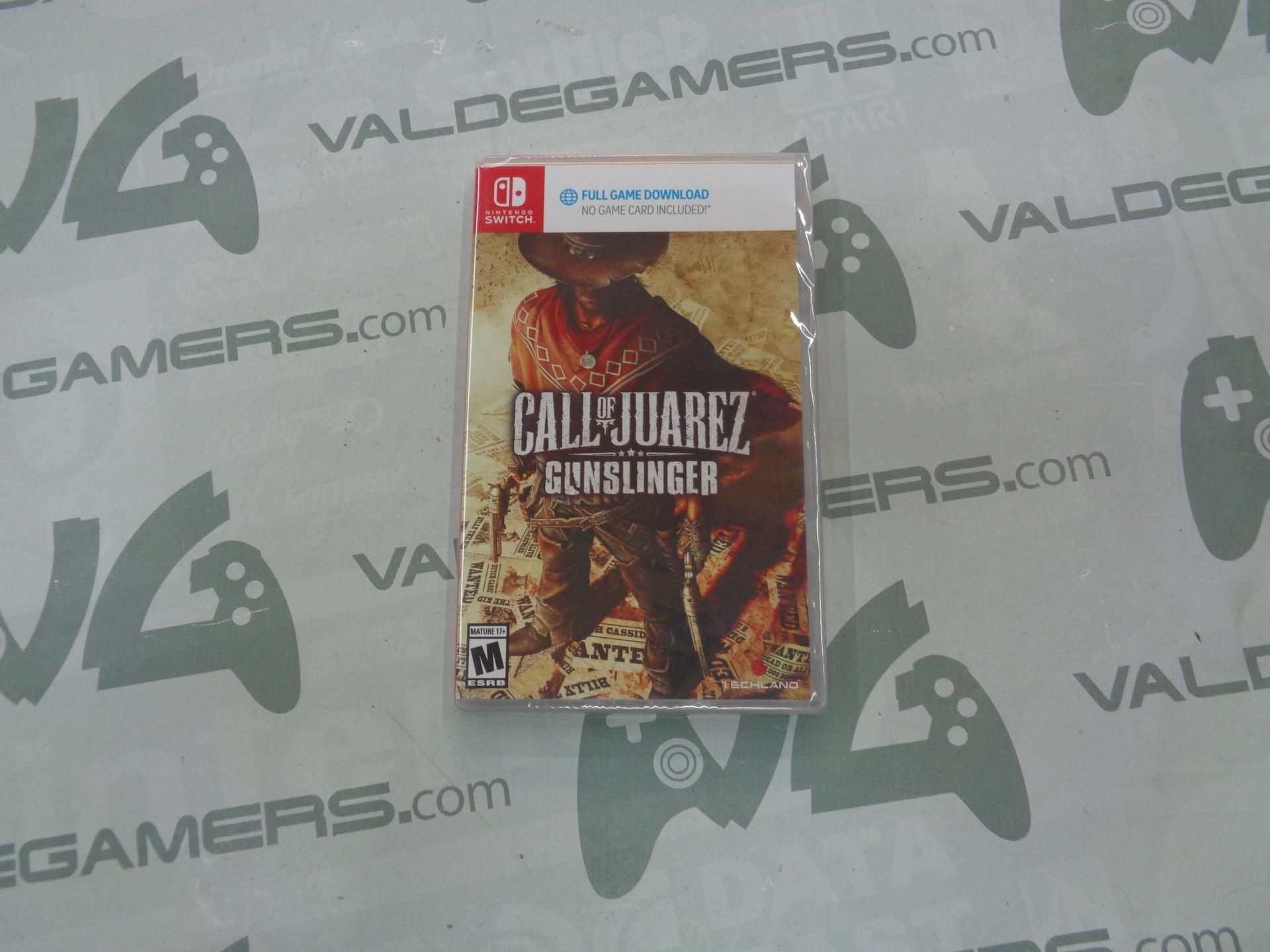 Call of Juarez: Gunslinger (Código de descarga) - NUEVO