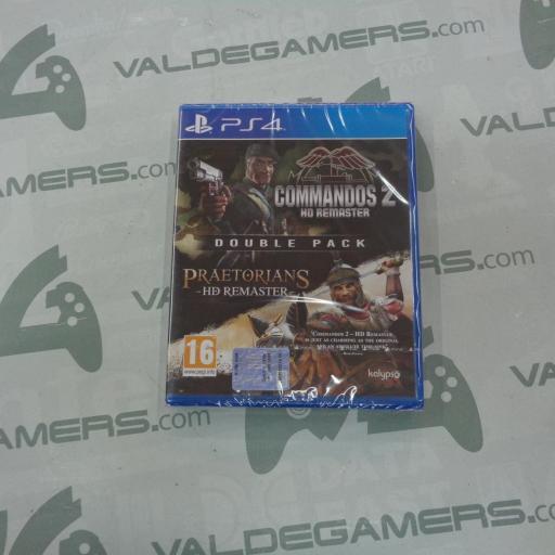 Commandos 2 & Praetorians Hd Remaster Double Pack- NUEVO