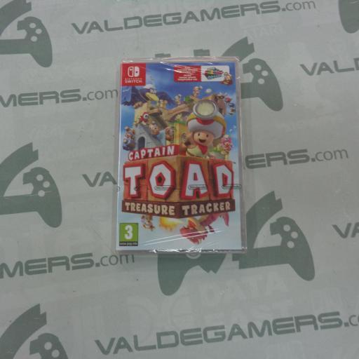 Captain Toad Treasure Tracker - NUEVO