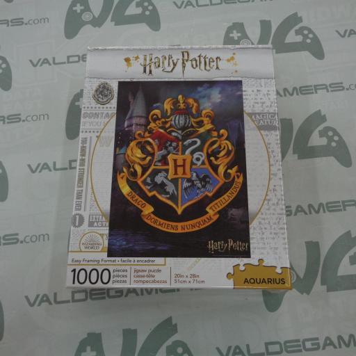 Puzzle Aquarius Harry Potter Hogwarts Logo 1000 piezas - NUEVO
