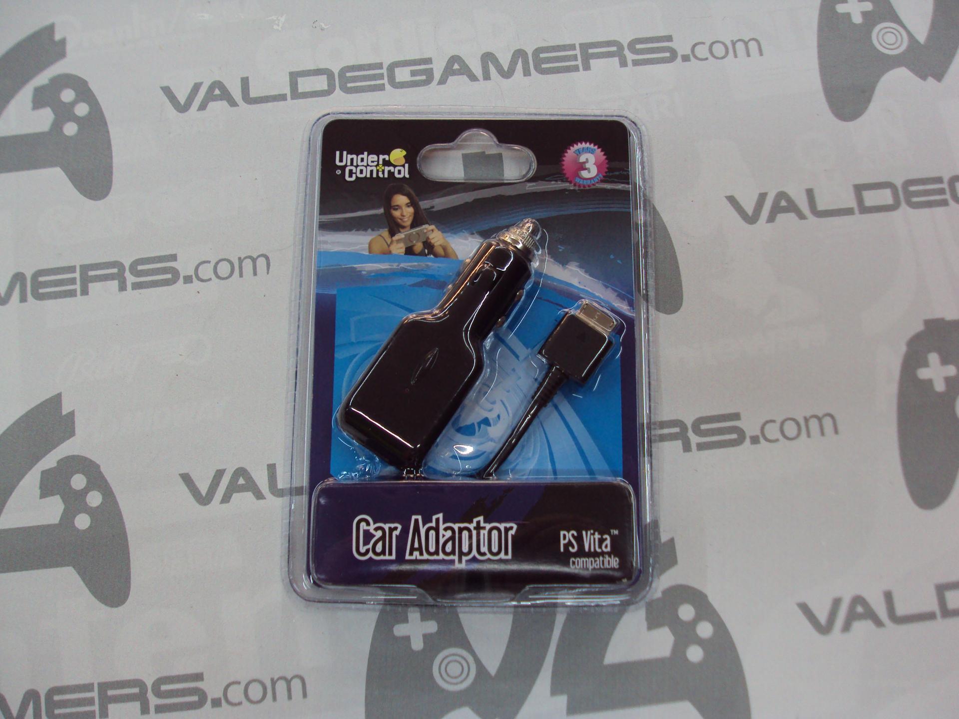 Cable carga USB PS Vita + Adaptador coche - NUEVO
