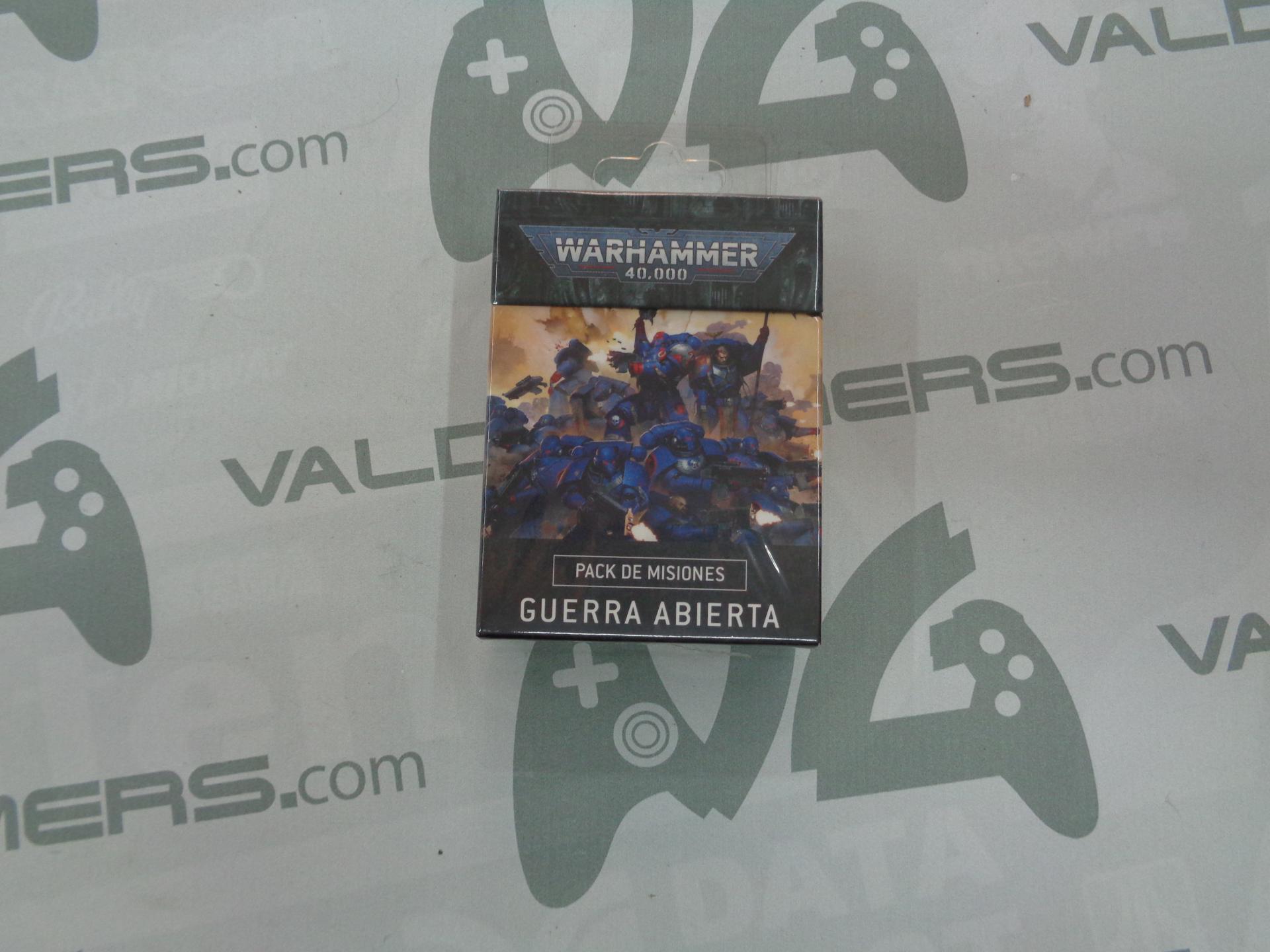 Warhammer 40000: Pack De Misiones: Guerra Abierta (Castellano) - NUEVO
