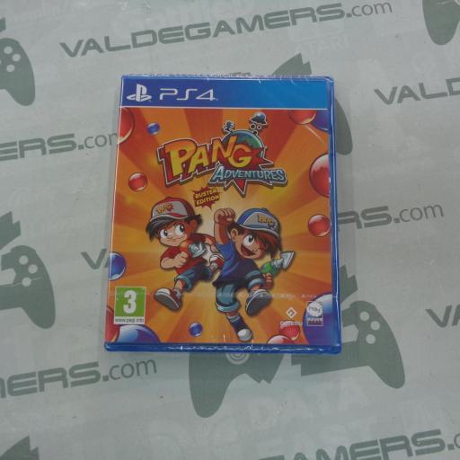 Pang Adventures Buster Edition - NUEVO