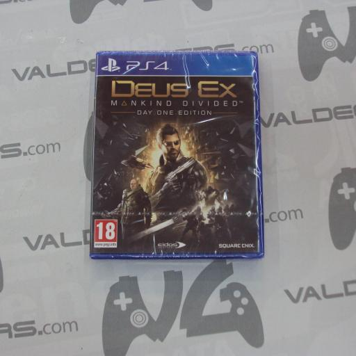 Deus Ex: Mankind Divided  - day one - uk - NUEVO