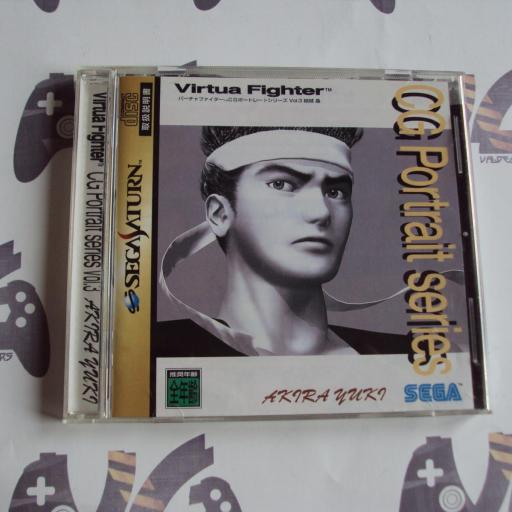 Virtua Fighter akira yuki CG Portrait Series - JAPAN