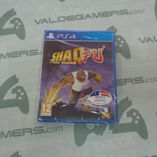 Shaq Fu: A Legend Reborn - NUEVO