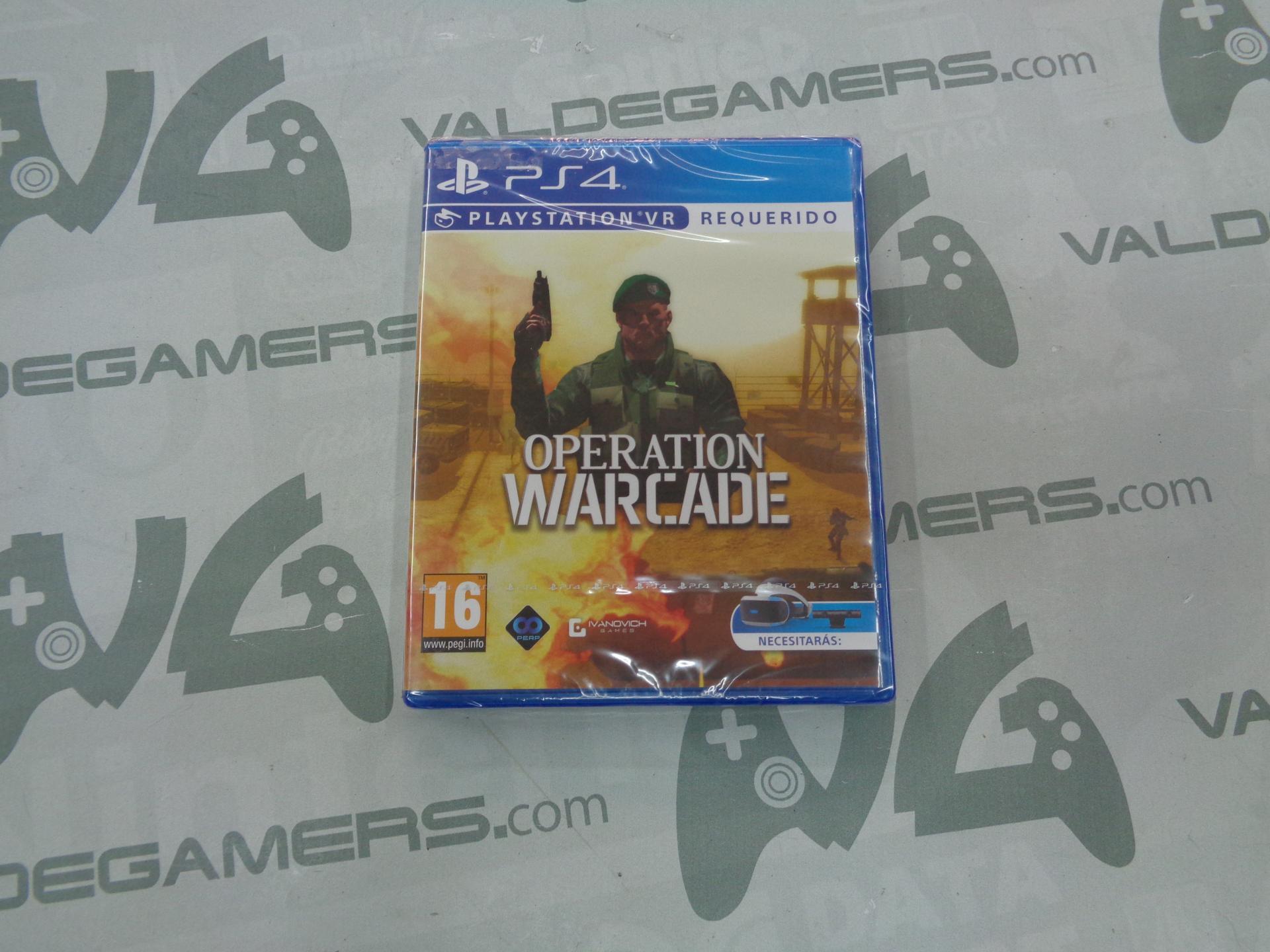 Operation Warcade - VR - NUEVO