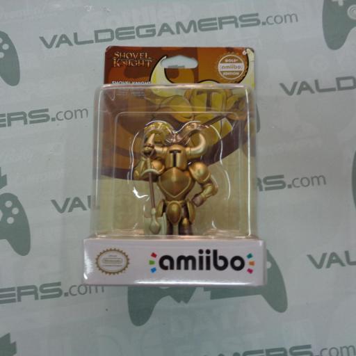 Amiibo  Shovel Knight Gold - NUEVO