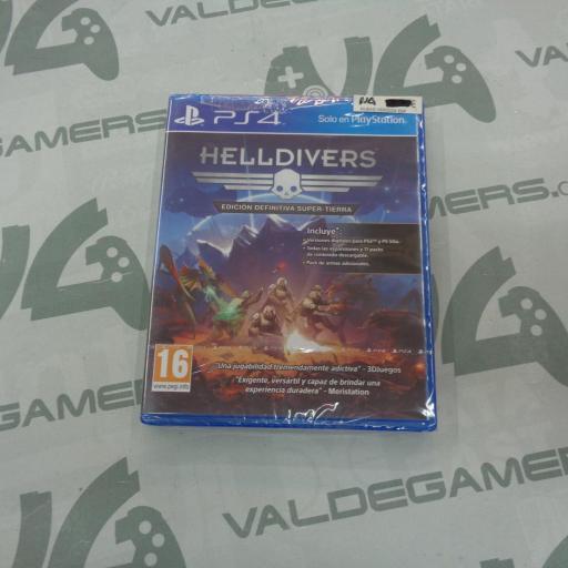 Helldivers : Edición definitiva Super-Tierra - NUEVO