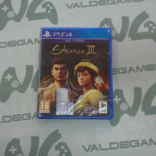 Shenmue III Day One Edition - NUEVO