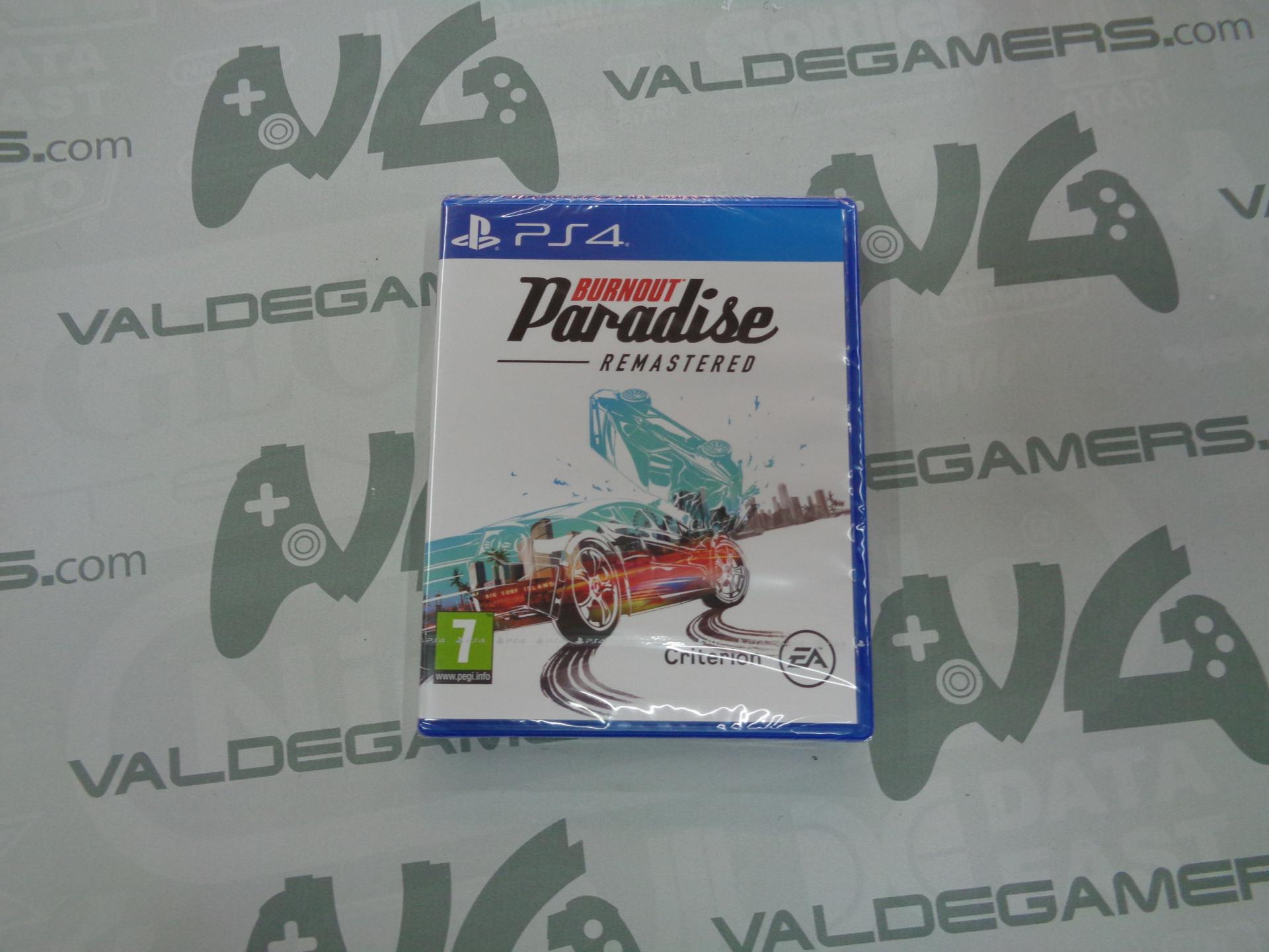 Burnout Paradise Remastered - NUEVO
